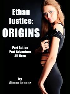 Ethan Justice: Origins (book cover)
