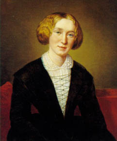 George Eliot at 30. François D'Albert Durade