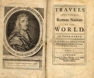 First Edition of Gulliver's Travels 1726