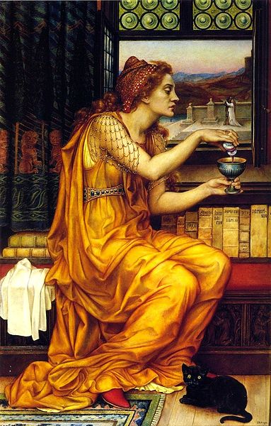 The Love Potion, Evelyn de Morgan, 1903