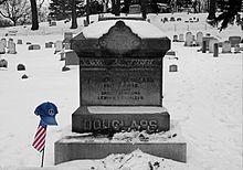 Frederick Douglass's gravestone