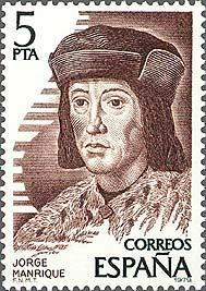 Jorge Manrique (mundo.sellos)