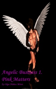 Draft cover for Pink Matters (Angelic Business 1)