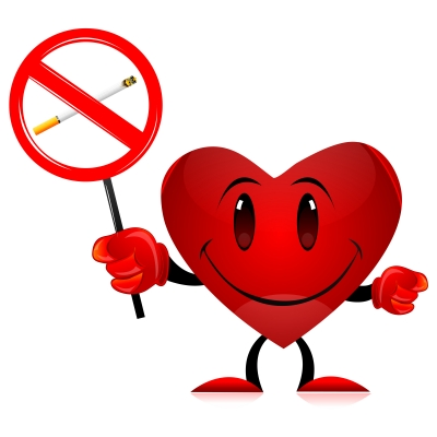 If you love your heart, don't smoke  Image courtesy of digitalart / FreeDigitalPhotos.net