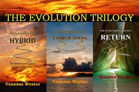 Evolution Trilogy by Vanessa Wester