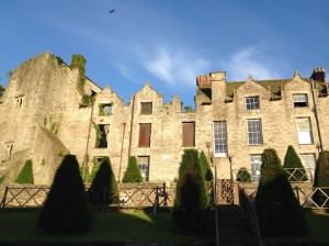 El castillo de Hay-on-Wye