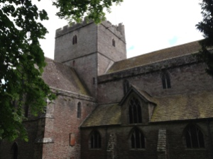 Brecon's cathedral
