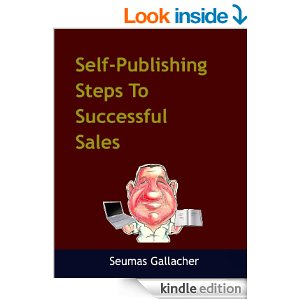 Self-publishing steps to successful sales