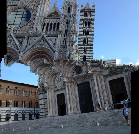 The Cathedral of Siena, my own inimitable style