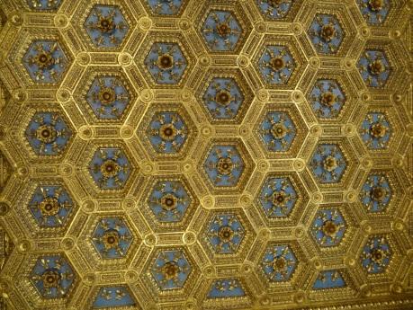 Un techo decorado fabuloso