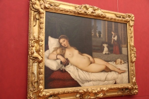 I had promised the gentlemen a Venus. This is Titian's
