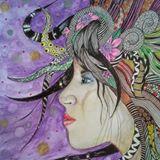 Lucía Sugar en su fase violeta