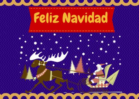 Feliz Navidad a vosotros y vuestras familias