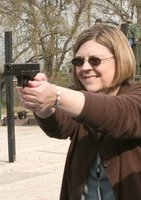 Author Pauline Baird-Jones. Don't mess with her!
