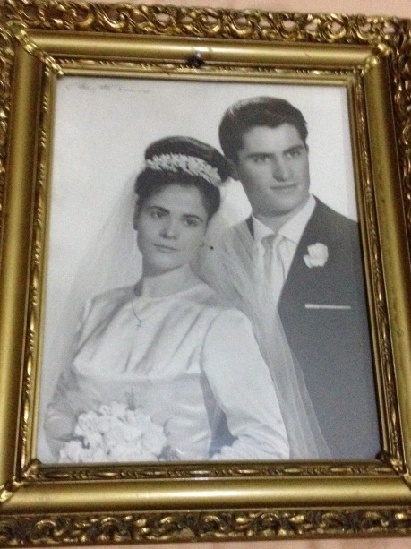 My parent's wedding picture