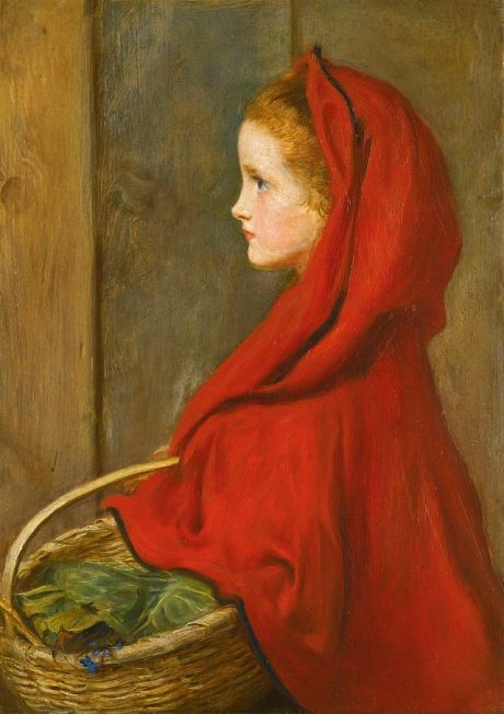 John_Everett_Millais_Red_Riding_Hood