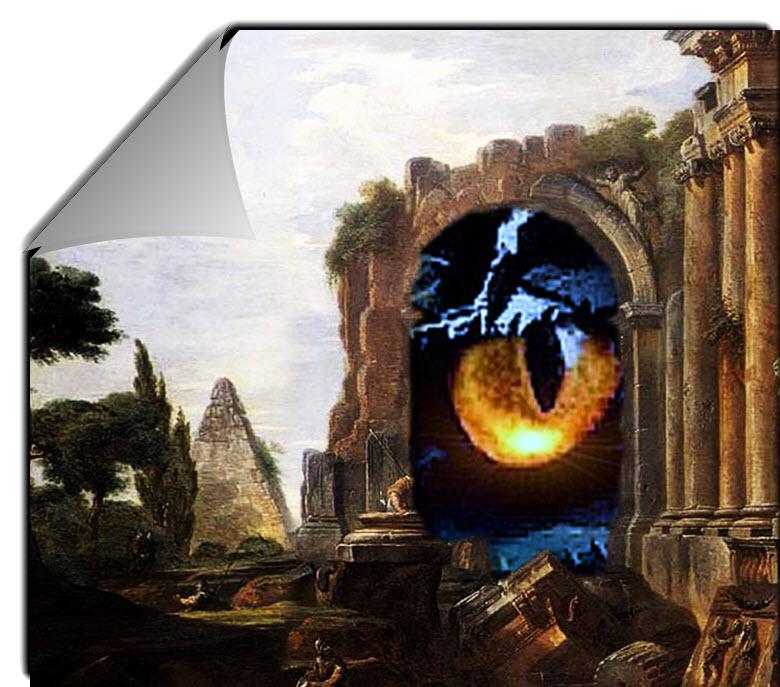Dragon Eye Looking through portal